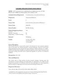 CSD INR 6296 Senior Seminar International Relations I