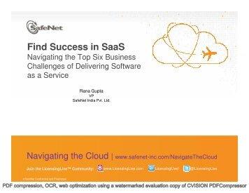 Find Success in Saas