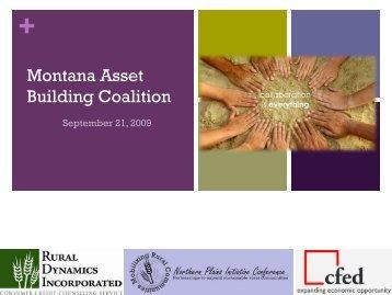 Great Falls Asset Development coalition - Rural Dynamics