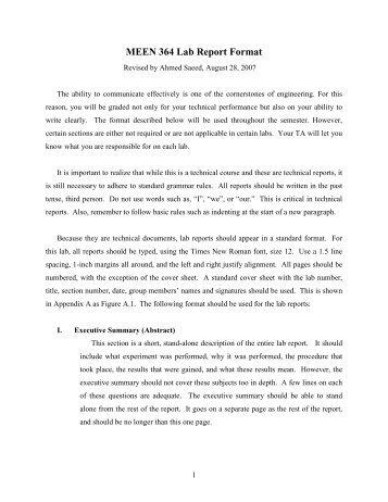 memorandum report sample