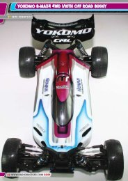 yOKOMO B-MAx4 4WD 1/10th Off ROAD - Radio Race Car ...