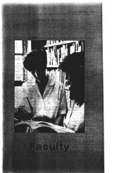 Current Faculty - Cline Library - Northern Arizona University
