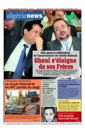 Fr-16-06-2013 - Algérie news quotidien national d'information