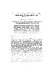 New Image Steganography via Secret-fragment-visible Mosaic ...