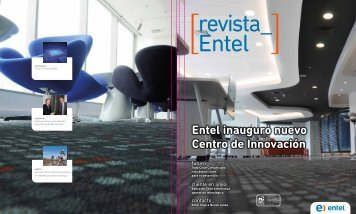 Entel inauguró nuevo Centro de Innovación