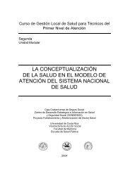 Segunda Unidad Modular : La conceptualización de ... - CENDEISSS