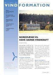 Vindformation 7, april 1997 (pdf) - Vindmølleindustrien