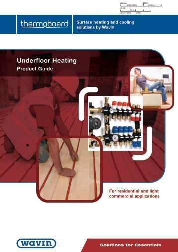 Underfloor Heating - RIBA Product Selector
