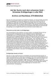 Max Frisch-Archiv an der ETH-Bibliothek