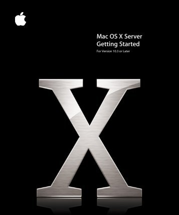 Mac OS X Server Getting Started - Wedophones.com wedophones