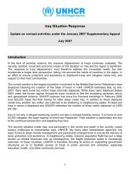 Iraq Situation Response - Refugee Council USA