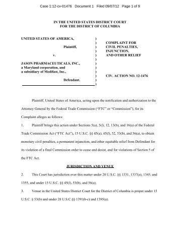 FTC complaint - MLMLaw