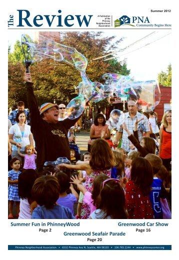 Summer 2012 - Phinney Neighborhood Association