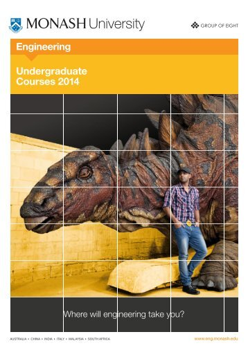 Undergraduate Course Guide - Faculty of Engineering - Monash ...