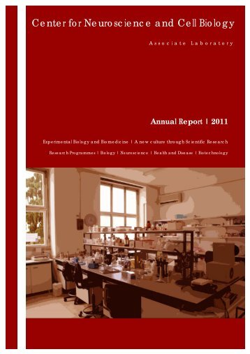 Annual Report of Activities CNC 2011 - Center for Neuroscience and ...