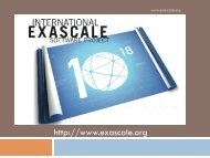 IESP Goals and Overview - Exascale.org
