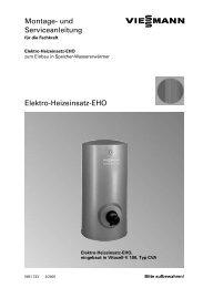 Elektro Heizeinsatz EHO Montage - 3-Liter-Heizung.de Online Shop
