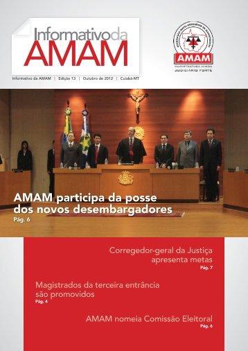 AMAM participa da posse dos novos desembargadores