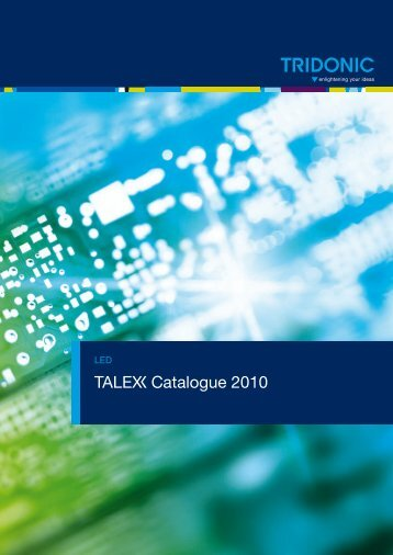 T Catalogue 2010 - Tridonic