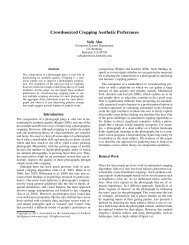 Crowdsourced Cropping Aesthetic Preferences - User Interface ...