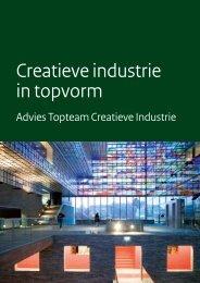 [PDF] Creatieve industrie in topvorm - Pianoo