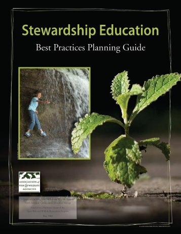 Stewardship Education Best Practices Planning Guide