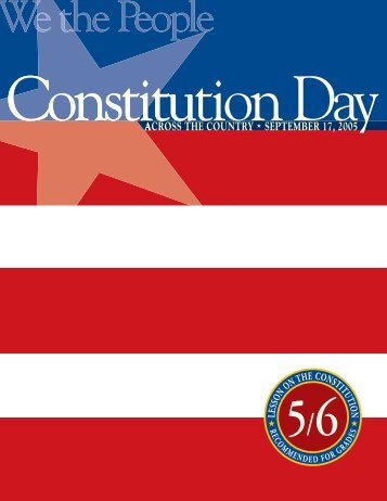 5- 6 Constitution Day