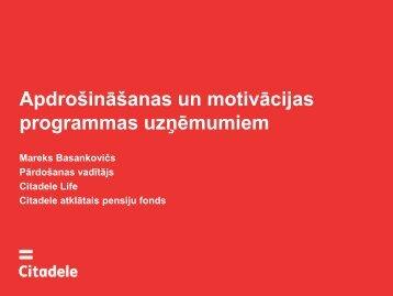 Bankas Citadele piedāvājums uzņēmējiem - Liic.lv