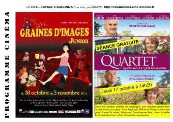 Rex Programme 1 - Office de Tourisme de Mamers et du Saosnois