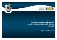 Impactos econômicos da realização da Copa 2014 no Brasil