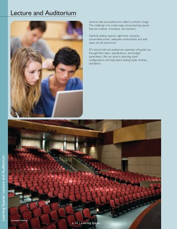 Lecture and Auditorium - KI.com