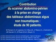 Contribution du scanner abdomino-pelvien à la prise en charge des ...