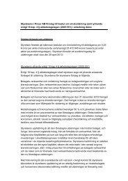 Styrelsens förslag och yttrande utdelning 2013 - Pricer