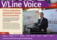 V/Line unleashes potential to boost local economies