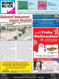 Anzeigenannahme 040 - Rundblick