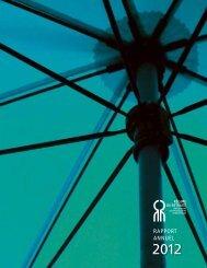 Rapport annuel du RRFS-GCF au 31 décembre 2012 - Régime de ...
