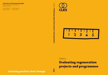 Evaluating regeneration projects and programmes.pdf - CLES