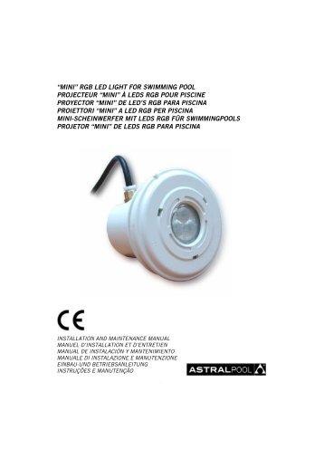 """mini"" rgb led light for swimming pool projecteur ... - Partnerline AS"