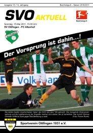 SVOAKTUELL - Sportverein 1931 Ottfingen eV