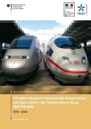 Publikation - Projektträger Mobilität und Verkehrstechnologien