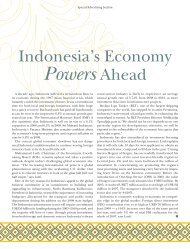 Indonesia's Economy Powers Ahead - Forbes Special Sections