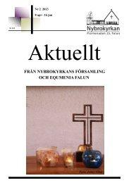 Aktuellt Nr 2, 2013.pdf - Svenska Missionskyrkan