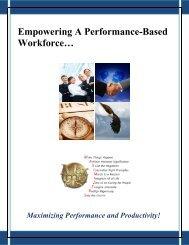 Empowering A Performance-Based Workforce - Future Achievement ...