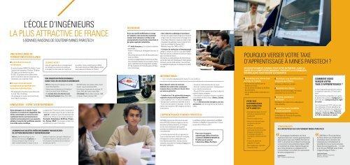 l'école d'ingénieurs la plus attractive de france - MINES ParisTech