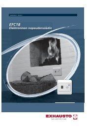 EFC-18 - Elektroninen säädin (PDF)