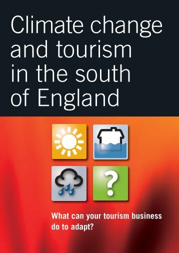 What can your tourism business do to adapt? - Our South West