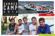 2013 Summer Brochure - Covenant Harbor