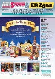 Aus dem Inhalt - Stadtwerke Schneeberg GmbH