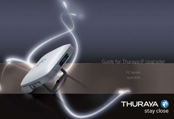 Guide for Thuraya IP Upgrader - Intermatica
