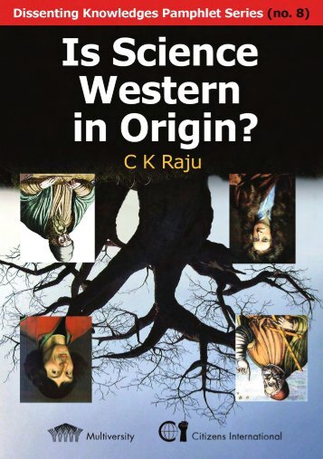 Is Science Western in Origin Preview - CK Raju